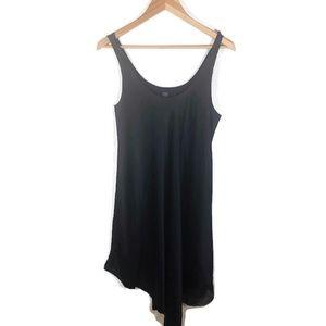Eileen Fisher Silk Handkerchief Hem Slip Dress
